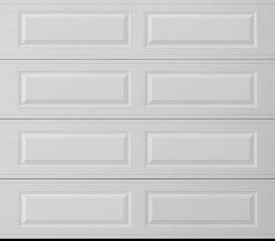 a long panel garage door