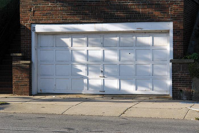 drafty garage door