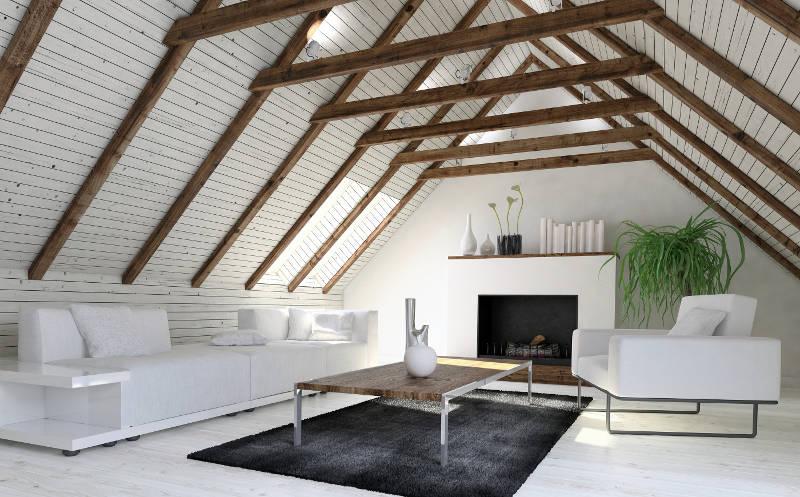 cozy attic guest suite