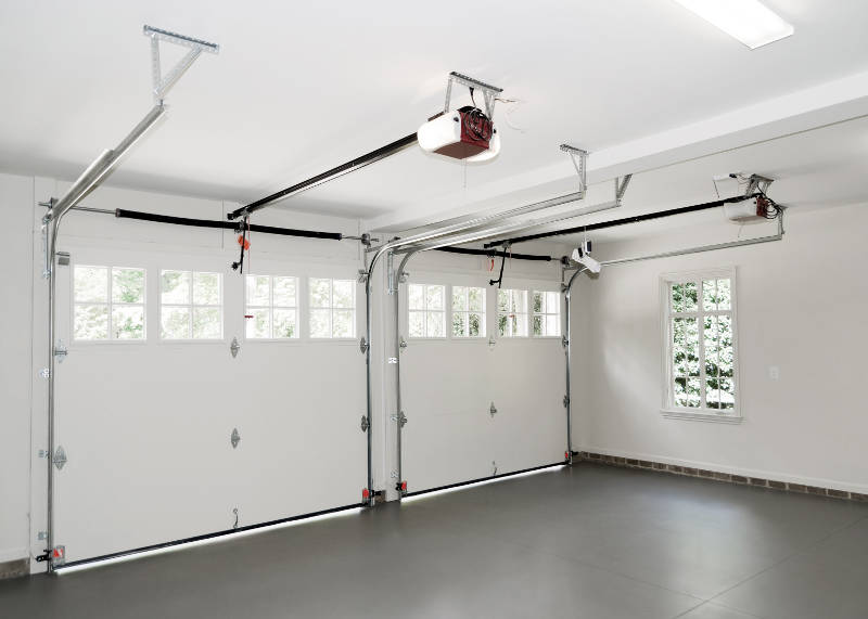 the interior of your garage